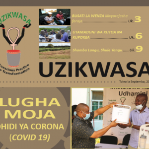 UZIKWASA 2020 Newsletter